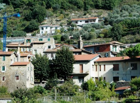 Vallecrosia (IM), centro storico di Vallecrosia Alta (o Vecchia)