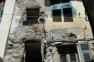 Ventimiglia (IM), centro storico della Città Alta, Via Saonese