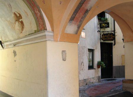 Bordighera (IM), centro storico del Paese Alto