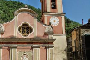 Buggio, Frazione di Pigna (IM), Chiesa Parrocchiale di San Giovanni Battista