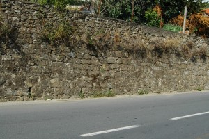 Camporosso (IM), lungo la via provinciale