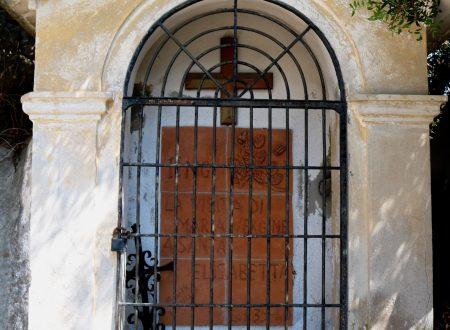 Ventimiglia (IM) – una delle Cappellette di N.S. delle Virtù (XVII sec.)