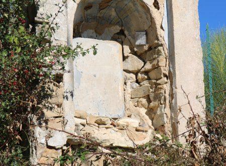 Vallebona (IM) – edicola votiva in Località Maciurina
